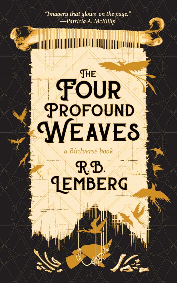 The cover of The Four Profound Weaves